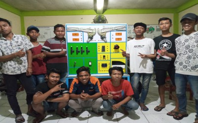 RANCANG BANGUN TRAINER POWER WINDOW